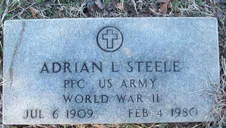STEELE (VETERAN WWII), ADRIAN L - White County, Arkansas   ADRIAN L STEELE (VETERAN WWII) - Arkansas Gravestone Photos