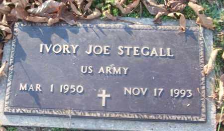 STEGALL (VETERAN), IVORY JOE - White County, Arkansas | IVORY JOE STEGALL (VETERAN) - Arkansas Gravestone Photos