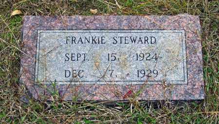 STEWARD, FRANKIE - White County, Arkansas   FRANKIE STEWARD - Arkansas Gravestone Photos