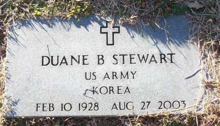 STEWART (VETERAN KOR), DUANE B - White County, Arkansas | DUANE B STEWART (VETERAN KOR) - Arkansas Gravestone Photos