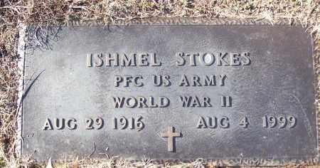 STOKES (VETERAN WWII), ISHMEL - White County, Arkansas | ISHMEL STOKES (VETERAN WWII) - Arkansas Gravestone Photos