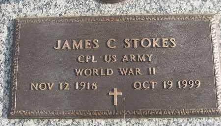 STOKES (VETERAN WWII), JAMES C - White County, Arkansas | JAMES C STOKES (VETERAN WWII) - Arkansas Gravestone Photos