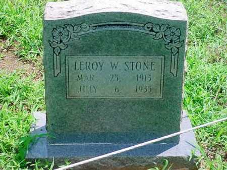 STONE, LEROY W. - White County, Arkansas | LEROY W. STONE - Arkansas Gravestone Photos