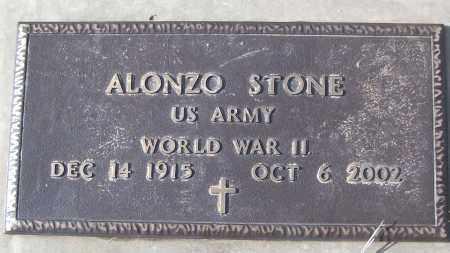 STONE (VETERAN WWII), ALONZO - White County, Arkansas | ALONZO STONE (VETERAN WWII) - Arkansas Gravestone Photos