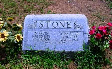 STONE, CORA ETTER - White County, Arkansas | CORA ETTER STONE - Arkansas Gravestone Photos