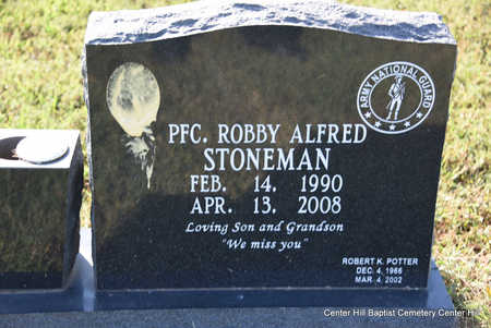 STONEMAN (VETERAN), ROBBY ALFRED - White County, Arkansas | ROBBY ALFRED STONEMAN (VETERAN) - Arkansas Gravestone Photos
