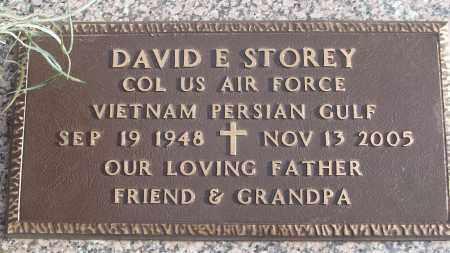 STOREY (VETERAN 2 WARS), DAVID E - White County, Arkansas | DAVID E STOREY (VETERAN 2 WARS) - Arkansas Gravestone Photos