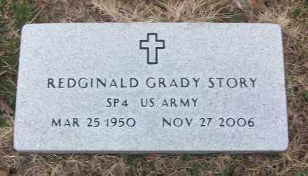 STORY (VETERAN), REDGINALD GRADY - White County, Arkansas | REDGINALD GRADY STORY (VETERAN) - Arkansas Gravestone Photos
