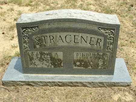 STRACENER, WINBURN W - White County, Arkansas | WINBURN W STRACENER - Arkansas Gravestone Photos