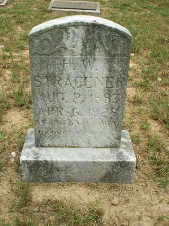 STRACENER, H W - White County, Arkansas | H W STRACENER - Arkansas Gravestone Photos
