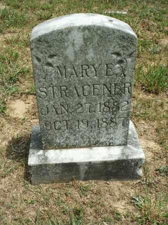 STRACENER, MARY E. - White County, Arkansas | MARY E. STRACENER - Arkansas Gravestone Photos