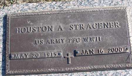 STRACENER (VETERAN WWII), HOUSTON A - White County, Arkansas | HOUSTON A STRACENER (VETERAN WWII) - Arkansas Gravestone Photos