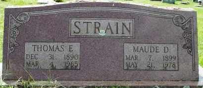 O'GUIN STRAIN, MAUDE D. - White County, Arkansas | MAUDE D. O'GUIN STRAIN - Arkansas Gravestone Photos