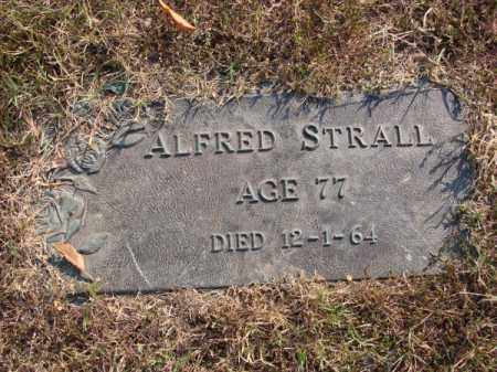 STRALL, ALFRED - White County, Arkansas | ALFRED STRALL - Arkansas Gravestone Photos