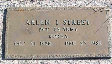 STREET (VETERAN KOR), ARLEN I - White County, Arkansas | ARLEN I STREET (VETERAN KOR) - Arkansas Gravestone Photos