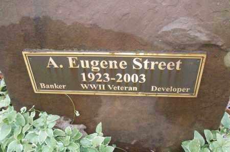 STREET (VETERAN WWII), A EUGENE - White County, Arkansas | A EUGENE STREET (VETERAN WWII) - Arkansas Gravestone Photos