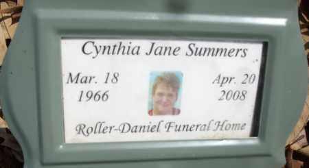 SUMMERS, CYNTHIA JANE - White County, Arkansas   CYNTHIA JANE SUMMERS - Arkansas Gravestone Photos