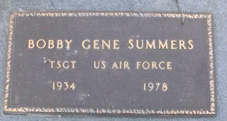 SUMMERS (VETERAN), BOBBY GENE - White County, Arkansas   BOBBY GENE SUMMERS (VETERAN) - Arkansas Gravestone Photos