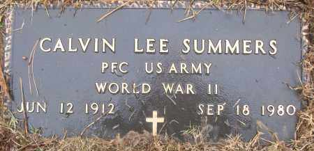 SUMMERS (VETERAN WWII), CALVIN LEE - White County, Arkansas | CALVIN LEE SUMMERS (VETERAN WWII) - Arkansas Gravestone Photos