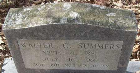 SUMMERS, WALTER C. - White County, Arkansas | WALTER C. SUMMERS - Arkansas Gravestone Photos