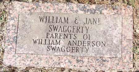 SWAGGERTY, JANE - White County, Arkansas | JANE SWAGGERTY - Arkansas Gravestone Photos