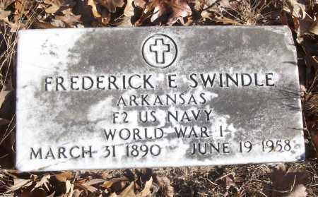 SWINDLE (VETERAN WWI), FREDERICK E - White County, Arkansas | FREDERICK E SWINDLE (VETERAN WWI) - Arkansas Gravestone Photos