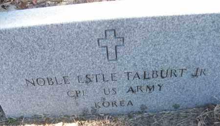 TALBURT, JR (VETERAN KOR), NOBLE ESTLE - White County, Arkansas | NOBLE ESTLE TALBURT, JR (VETERAN KOR) - Arkansas Gravestone Photos