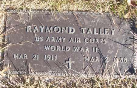 TALLEY (VETERAN WWII), RAYMOND - White County, Arkansas | RAYMOND TALLEY (VETERAN WWII) - Arkansas Gravestone Photos