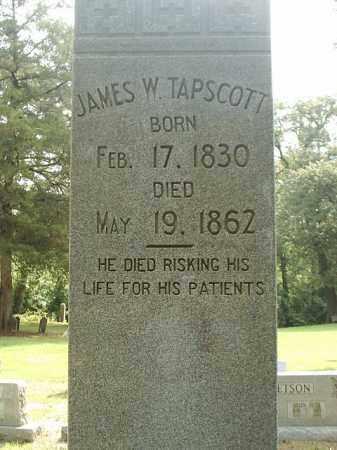 TAPSCOTT DR  2, JAMES W. - White County, Arkansas | JAMES W. TAPSCOTT DR  2 - Arkansas Gravestone Photos