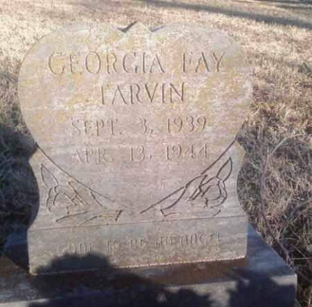 TARVIN, GEORGIA FAY - White County, Arkansas   GEORGIA FAY TARVIN - Arkansas Gravestone Photos