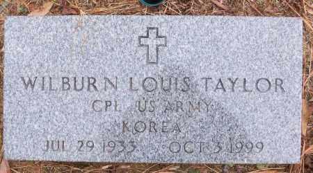 TAYLOR (VETERAN KOR), WILBURN LOUIS - White County, Arkansas | WILBURN LOUIS TAYLOR (VETERAN KOR) - Arkansas Gravestone Photos