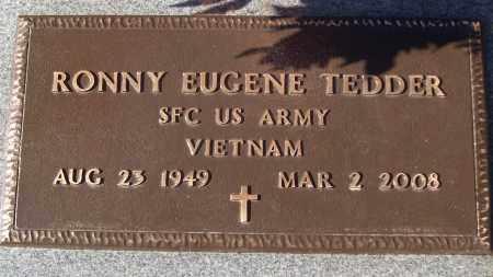 TEDDER (VETERAN VIET), RONNY EUGENE - White County, Arkansas | RONNY EUGENE TEDDER (VETERAN VIET) - Arkansas Gravestone Photos