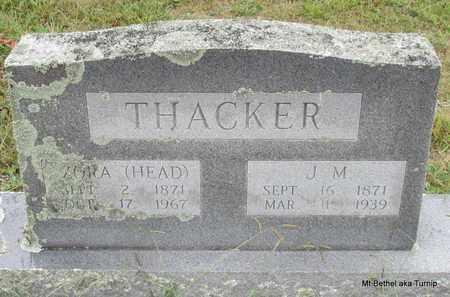 HEAD THACKER, ZORA - White County, Arkansas | ZORA HEAD THACKER - Arkansas Gravestone Photos