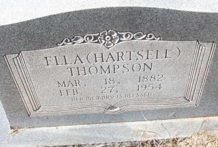 HARTSELL THOMPSON, ELLA - White County, Arkansas | ELLA HARTSELL THOMPSON - Arkansas Gravestone Photos