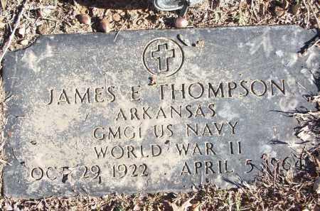 THOMPSON (VETERAN WWII), JAMES E - White County, Arkansas | JAMES E THOMPSON (VETERAN WWII) - Arkansas Gravestone Photos