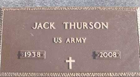 THURSON (VETERAN), JACK - White County, Arkansas   JACK THURSON (VETERAN) - Arkansas Gravestone Photos