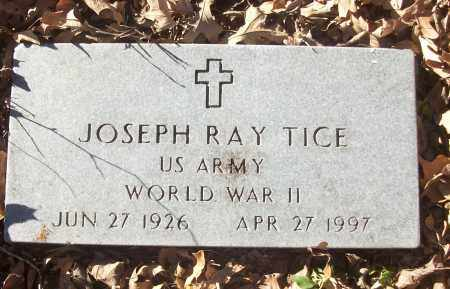 TICE (VETERAN WWII), JOSEPH RAY - White County, Arkansas | JOSEPH RAY TICE (VETERAN WWII) - Arkansas Gravestone Photos