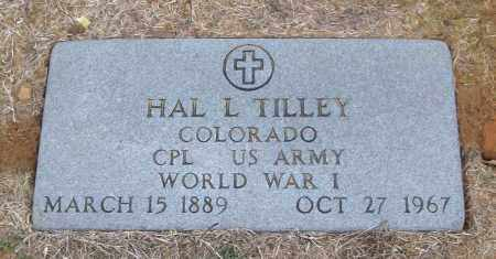 TILLEY (VETERAN WWI), HAL L - White County, Arkansas | HAL L TILLEY (VETERAN WWI) - Arkansas Gravestone Photos