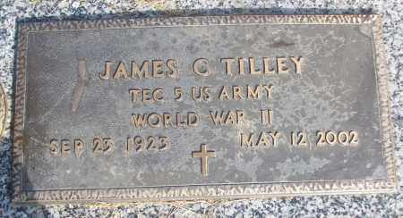 TILLEY (VETERAN WWII), JAMES C - White County, Arkansas | JAMES C TILLEY (VETERAN WWII) - Arkansas Gravestone Photos