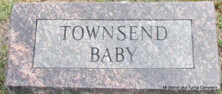 TOWNSEND, BABY (TWO IDENTICAL STONES) - White County, Arkansas | BABY (TWO IDENTICAL STONES) TOWNSEND - Arkansas Gravestone Photos
