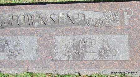TOWNSEND, DAVID H (CLOSE UP) - White County, Arkansas   DAVID H (CLOSE UP) TOWNSEND - Arkansas Gravestone Photos