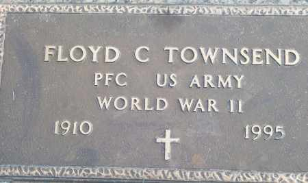 TOWNSEND (VETERAN WWII), FLOYD C - White County, Arkansas | FLOYD C TOWNSEND (VETERAN WWII) - Arkansas Gravestone Photos