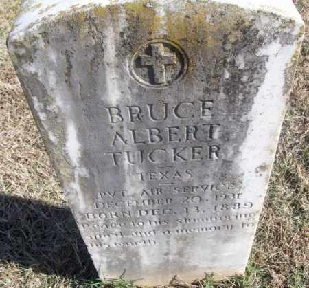 TUCKER  (VETERAN), BRUCE ALBERT - White County, Arkansas   BRUCE ALBERT TUCKER  (VETERAN) - Arkansas Gravestone Photos