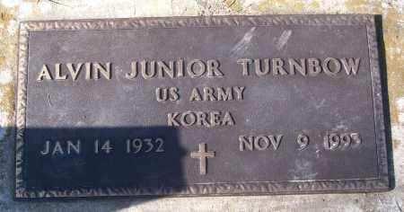 TURNBOW (VETERAN KOR), ALVIN JUNIOR - White County, Arkansas | ALVIN JUNIOR TURNBOW (VETERAN KOR) - Arkansas Gravestone Photos