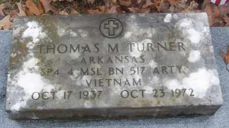 TURNER  (VETERAN VIET), THOMAS M - White County, Arkansas | THOMAS M TURNER  (VETERAN VIET) - Arkansas Gravestone Photos