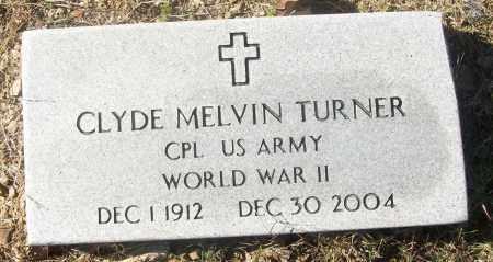TURNER  (VETERAN WWII), CLYDE MELVIN - White County, Arkansas   CLYDE MELVIN TURNER  (VETERAN WWII) - Arkansas Gravestone Photos