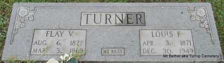 TURNER, LOUIS F - White County, Arkansas | LOUIS F TURNER - Arkansas Gravestone Photos