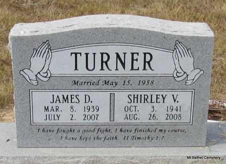 TURNER, JAMES D - White County, Arkansas | JAMES D TURNER - Arkansas Gravestone Photos