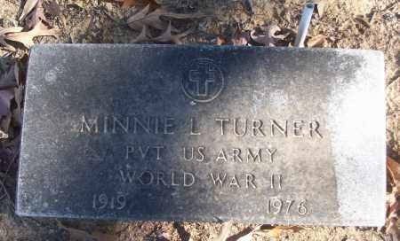 TURNER (VETERAN WWII), MINNIE L - White County, Arkansas   MINNIE L TURNER (VETERAN WWII) - Arkansas Gravestone Photos