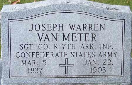 VAN METER (VETERAN CSA), JOSEPH WARREN - White County, Arkansas | JOSEPH WARREN VAN METER (VETERAN CSA) - Arkansas Gravestone Photos